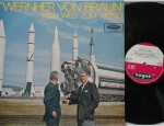 Mein weg zum mond 1965, Documentory, on Vogue LDV 17075, original heavy vinyl pressing. Prince Konstantin von Bayern talks about the life and works of Wernher von Braun. Record: M     Cover: M     Labels: M €75,-