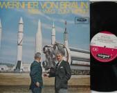 Mein weg zum mond 1965, Documentory, on Vogue LDV 17075, original heavy vinyl pressing. Prince Konstantin von Bayern talks about the life and works of Wernher von Braun. Record: M   Cover: M   Labels: M €75,-