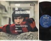 Voor de overlevenden, mono, decca, DU 170014 Record, NM   Cover: NM €25,-
