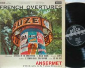 French Overtures, Decca SXL 2263 – ED1 Offenbach:LALO, Le Roi d'ys –AUBER, Le Domino Noir – HEROLD, Zampa – OFFENBACH, La Belle Helene – AUBER, Fra Diavolo – OFFENBACH,Orpheus in the Underworld Enest Ansermet conducting lórchestra de la Suisse Romande Very occasional light pop, not disturbing! Record: VG++   […]