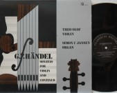 Händel, Sonatas fot violin and continuo. Classical Record International 180464/65. 2 lp set. stereo. Händel violin sonatas. Theo Olof, violin, Simon Jansen, organ. Theo Olof was concert master of the Concertgebouw Orchestra. this is a very rare recording on this small Dutch label. Unique sound of Olof's Pigue violin with […]