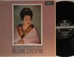 Italian Operatic Arias, 1963 UK decca sxl 6075 WB grooved ED1. Régine Crespin – soprano Edward Downes conducts Orchestra of The Royal Opera House, Covent Garden With original libretto insert. In original inner sleeve. ZAL 5957-1G / 5958-1G Record: M     Cover: NM € 90,-