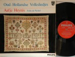 Oud-Hollandse Volksliedjes Original philips 04830 HGL, Aafje Heynis, Felix de Nobel Record: NM Cover: NM €35,-
