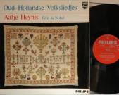 Oud-Hollandse Volksliedjes Original philips 04830 HGL, Aafje Heynis, Felix de Nobel Record: NM Cover: NM €50,-