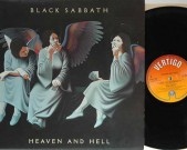 Heaven and Hell, UK 1980, original 1st pressing, Vertigo 9102 752 Matrix: A2, B1 !!!     (UK Phonogram address detail bottom left corner of rear sleeve) €65,-