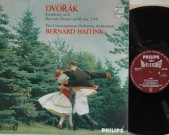 Philips 835 193 AY Early Maroon label HIFI STEREO on labels and jacket. Made in Holland. Dvorak Symphony 8 and Slavonic Dances opus 46.Concertgebouw Orchestra Bernard Haitink Record: NM Cover: NM €45,-