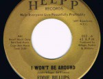 I Won't Be Around / Hard Headed Woman, HELPP 002, 60's Record: M €25,-