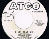 I got that will / You are too much for the human heart ATCO 45-6566, US, 60′s Great Funk, amazing tune in superb condition!   Record: M €45,-