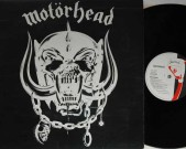 Motorhead, 1979 UK, Chiswick 3008 LP Matrix: CWK 3008 A-1U, B-1U Record: M Cover: M €50,-