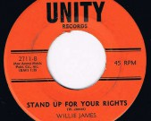 STAND UP FOR YOUR RIGHT, Unity 2711, 1970, funk rarity J.B. style Record: NM €40,-