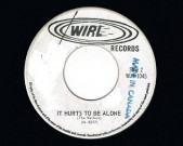 It Hurts To Be Alone / Nice Time, WIRL M-9376 Matrix A-Side: M-9376 Matrix B-Side: M-9377 One side is stamped with 'Made in Canada'. Condition labels: note that some writing has been covered with white paint, on both sides, see scans Condition vinyl: Near Mint €35,-