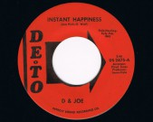 Instant Happiness, In The Chapel, DETO, DS 2875 Condition labels: clean, see scans Condition vinyl: Excellent €60,-