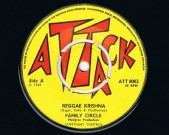 Reggae Krishna / Official, Attack,  1969 Condition vinyl: Near Mint Condition labels: clean, see scans Comes in a plain white sleeve € 100,-