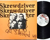 All Skrewed Up, Chiswick (Holland), 550200, 1977 Condition vinyl: Near Mint Condition sleeve: Near Mint € 80,-